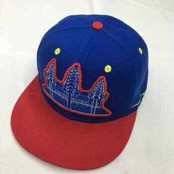 custom fitted cap