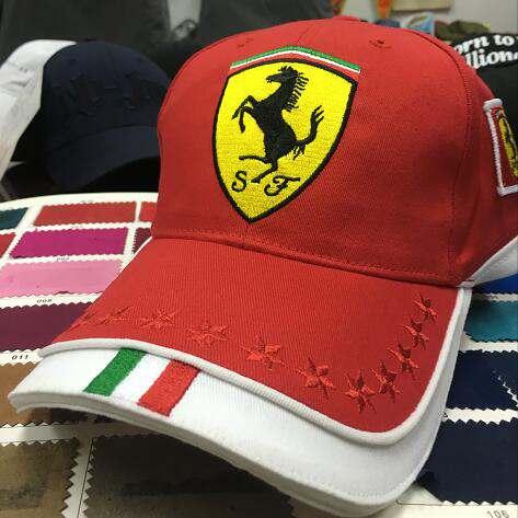custom farreri racing hat