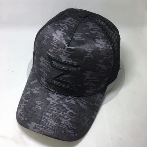 all print trucker hat